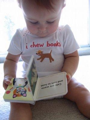 I chew books