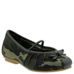 Camo Ballet Flat