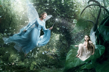 Abigail Breslin as a Fairy