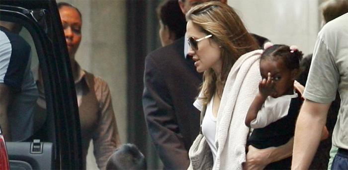 Zahara Jolie-Pitt sez hi