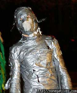 Duct Tape Mummy