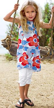 H&M Girls tunic and leggings
