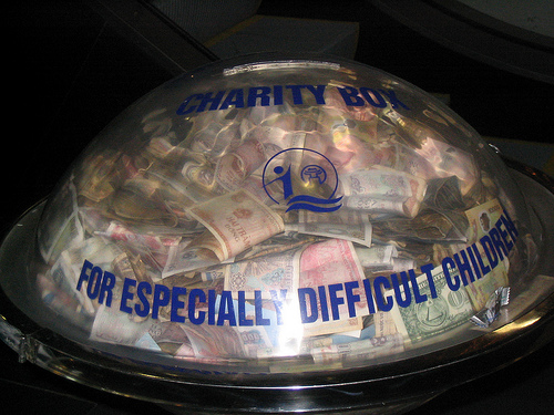 Charity Box for Especially Difficult Children