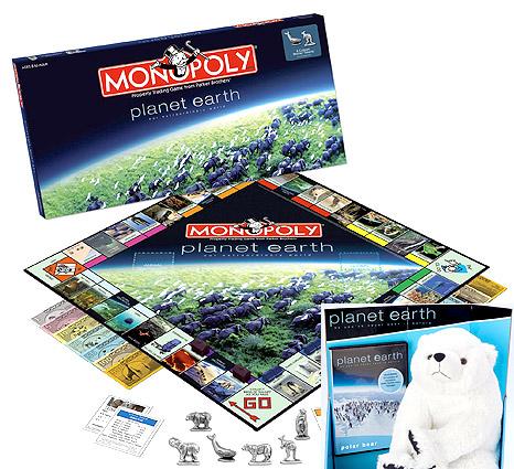 Planet Earth Monopoly