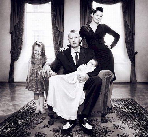Marko Rantanen family portrait