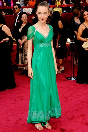 Saoirse Ronin on the red carpet