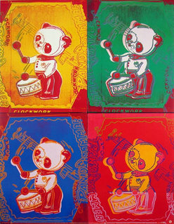 Andy Warhol Four Pandas