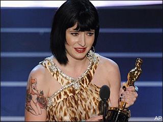 Diablo Cody at the Oscars