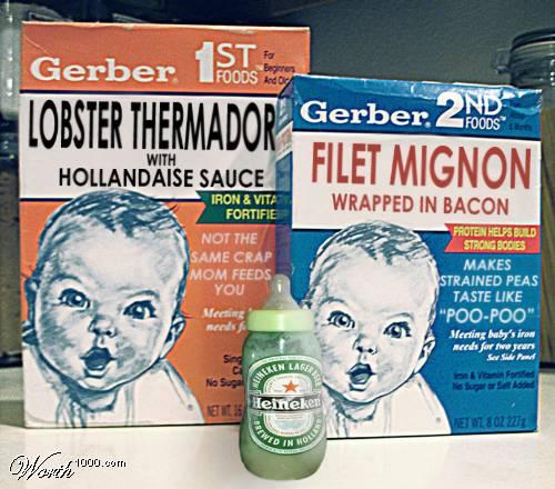 Real Baby Food, nom nom nom