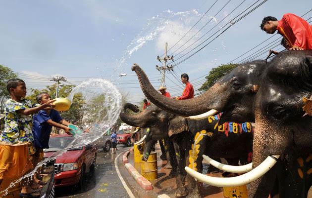 Thai Waterfight