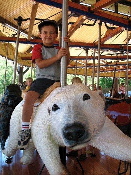 Sam on Polar Bear