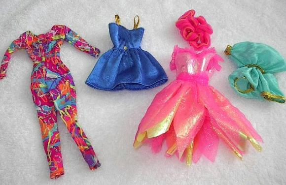 Barbie Clothes, stuff Cher rejected as too flashy