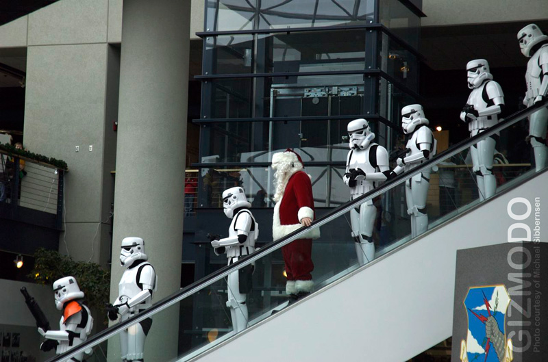 Santa Sacked by Stormtroopers