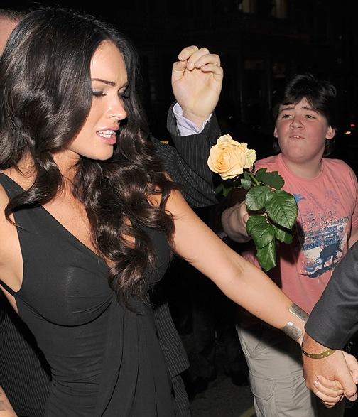 Megan Fox hates poor Harvey