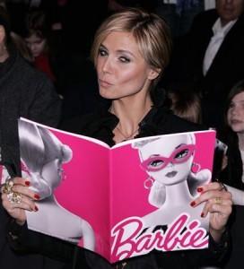 Heidi Klum can read?