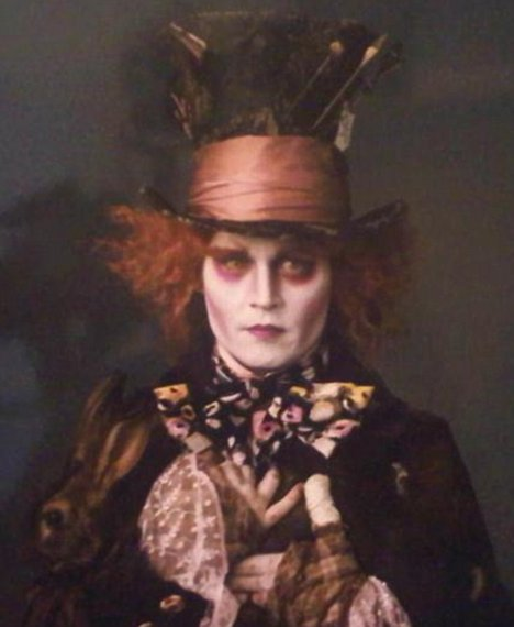Johnny Depp IS mad as a hatter