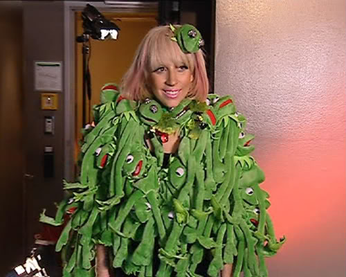 Lady Gaga It Ain't Easy Being Green