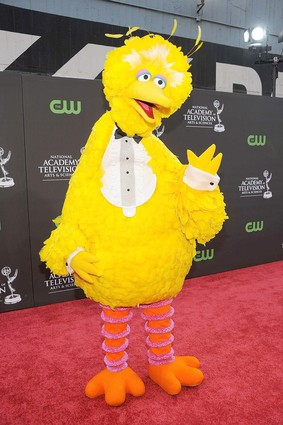 Big Bird at the Emmys