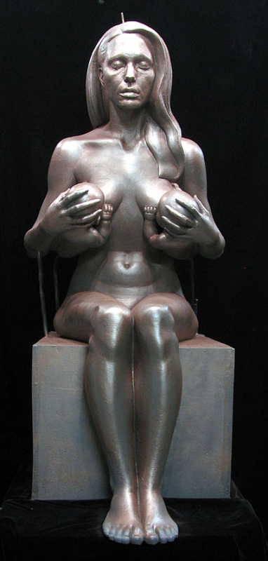 Angelina Breastfeeding Statue