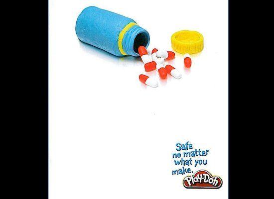 Play Doh pills