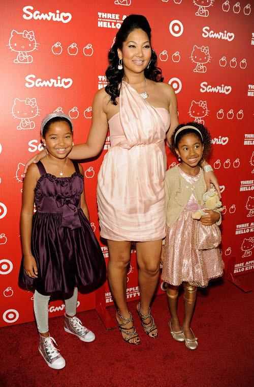 kimora lee simmons kids names. Kimora Lee Simmons and
