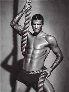 Beckham armani ad