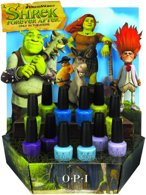 Shrek nail polish OPI