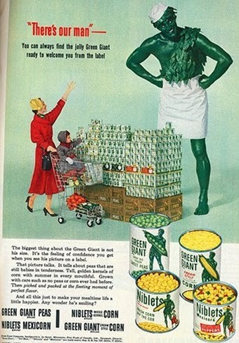 Vintage Jolly Green Giant ad