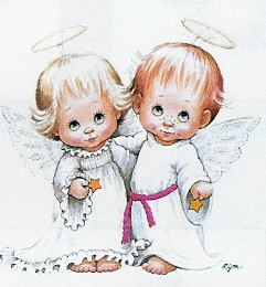 boy and girl angels