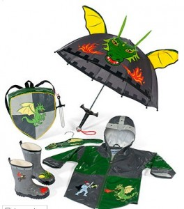 Dragon and Knight Rain Set